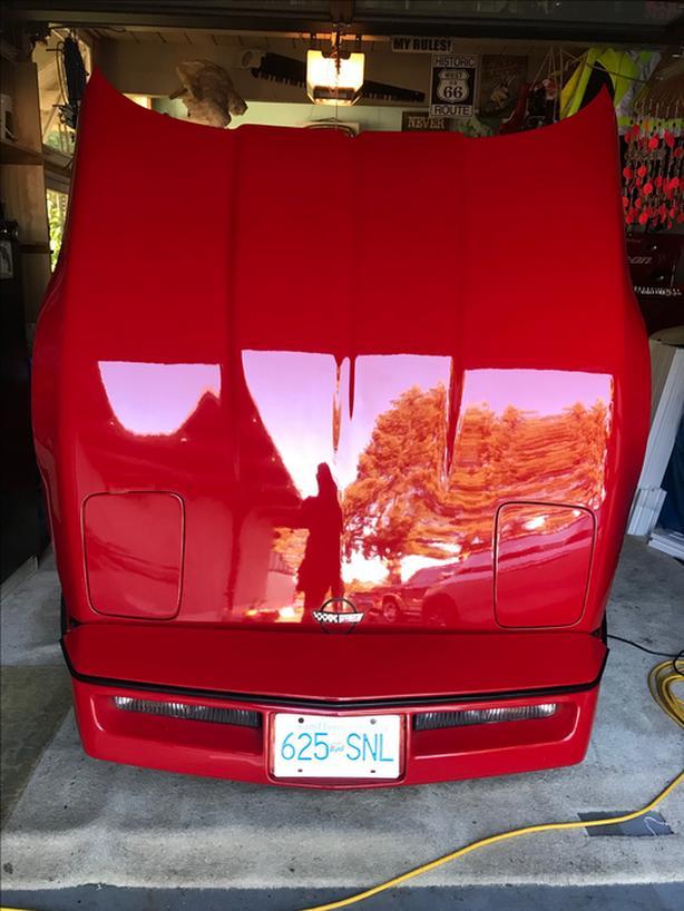 86 corvette convertible
