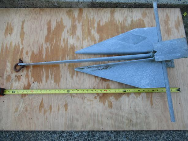 25LB Danforth 22s Anchor
