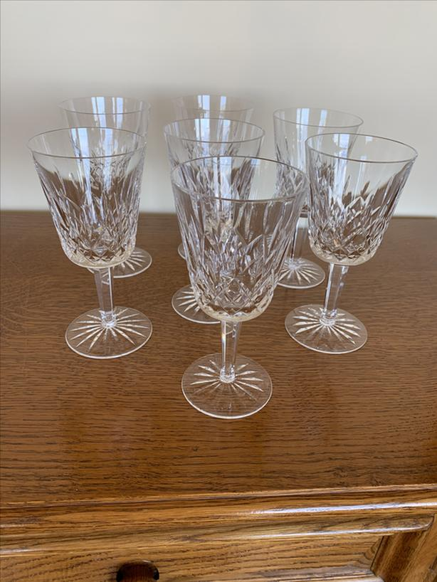 Waterford Crystal Wine Goblets