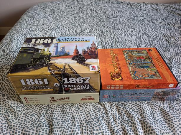 Boardgames, Wargames, 18xx, Solitaire, Solo