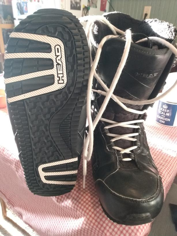 HEAD brand snowboarding boots