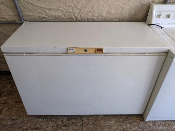 kenmore heavy duty chest freezer