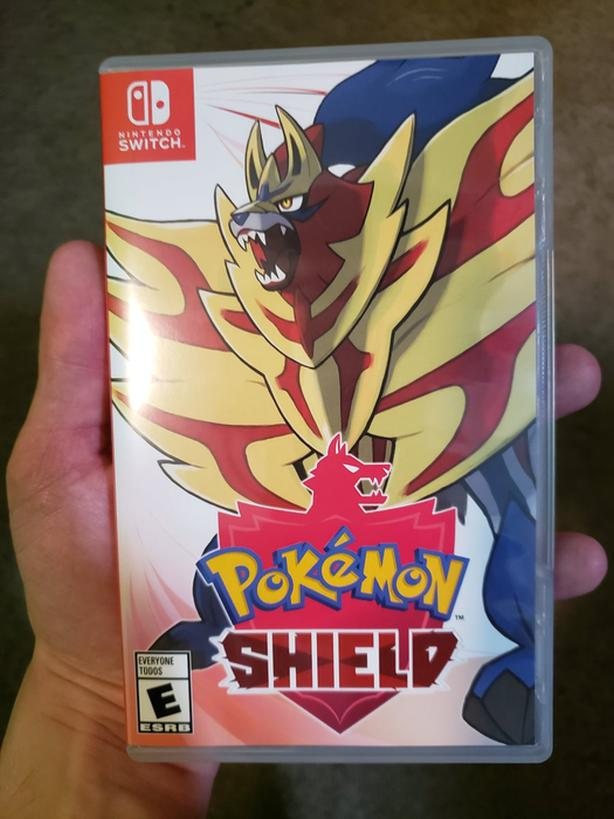 Pokemon shield obo