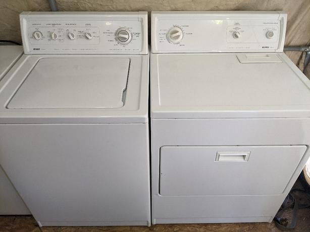 kenmore 90 series heavy duty, super capacity plus washer and dryer set