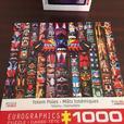 2 Eurographics Puzzles 1000 piece