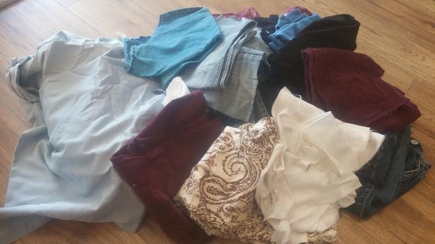 FREE: Fabric scraps