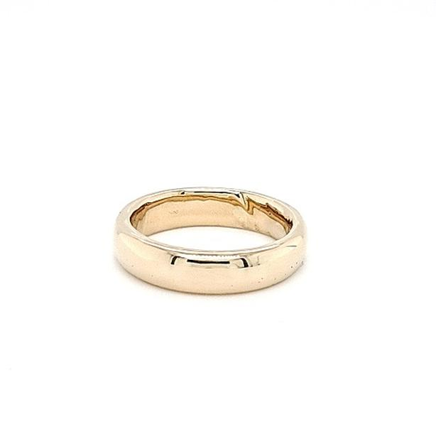 14K Yellow Gold Hand Made 5mm Band (35327-11)