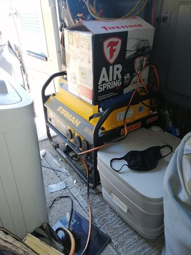 New never run  3650 firman generator