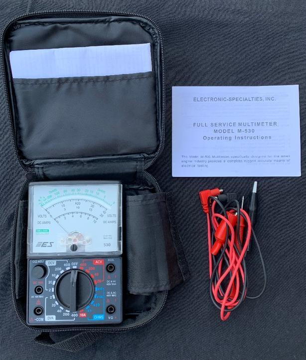 DVA (Direct Voltage Adaptor) meter
