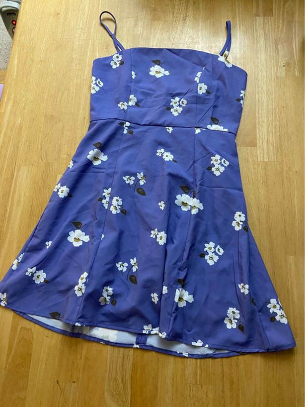 Purple dress from Zaful