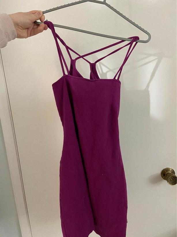 Cute magenta dress!