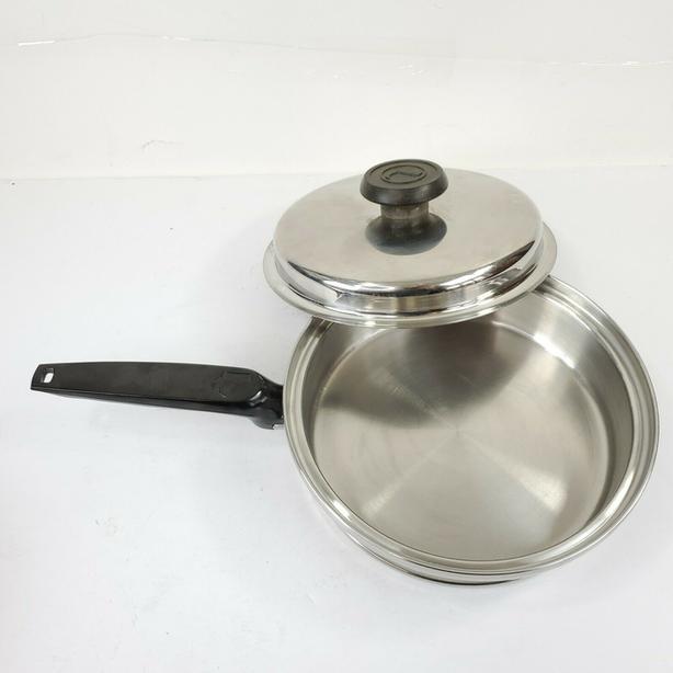 Custom Design Lifetime T304 CC Stainless Steel skillets sauce pans - USA