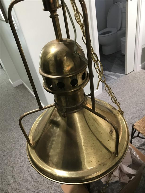 Antique Ship Lamp