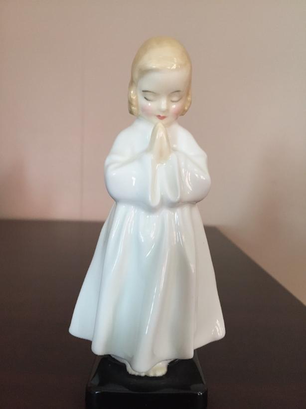 Royal Doulton Bedtime Praying Child Figurine