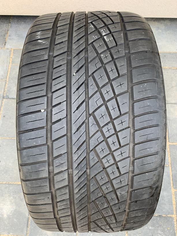 1 X single 275/30/20 continental extreme contact DWS 06 50%