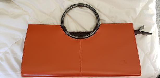Ladies Italian Leather Clutch