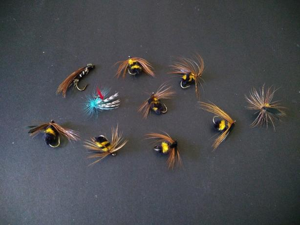 Brand new flies
