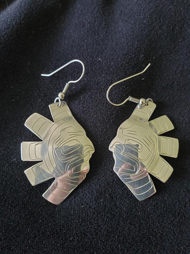 Earrings -Native art