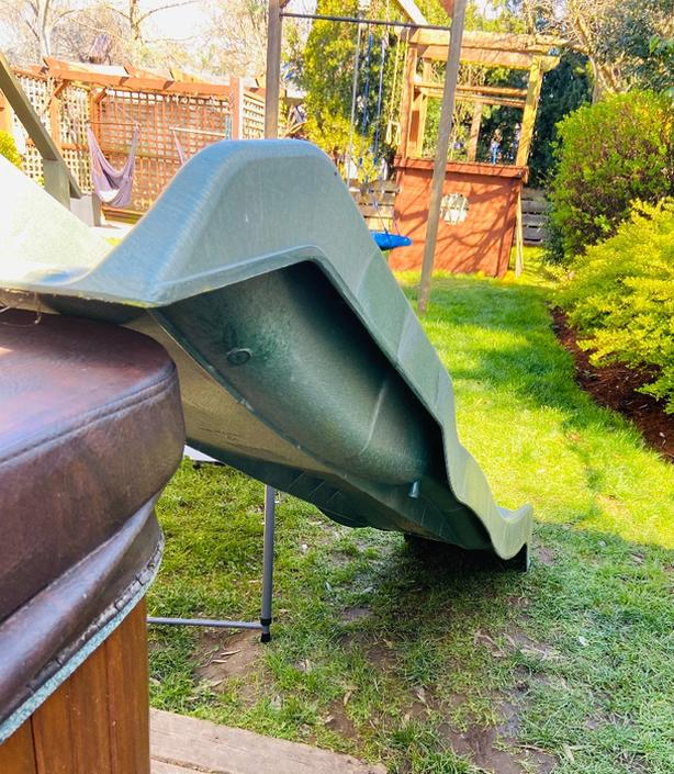 Slide for play structure