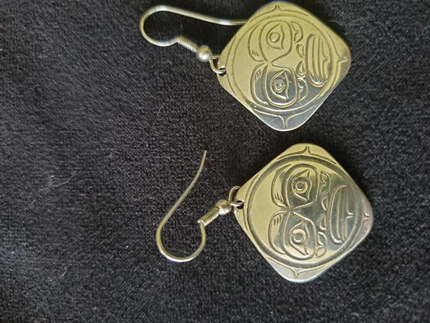 Earrings - Native art