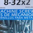 New Machine Screws 100 pcs. 174-648, 8-32x2,  (224 0904)