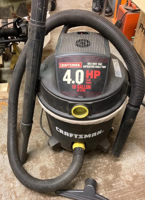 craftsman shop vac