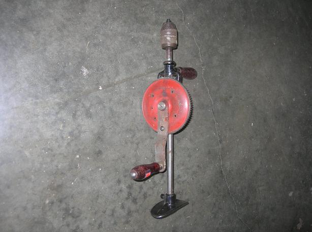 Vintage 2 Speed Eggbeater Drill with a 1/2 inch Chuck.  (229 0904)