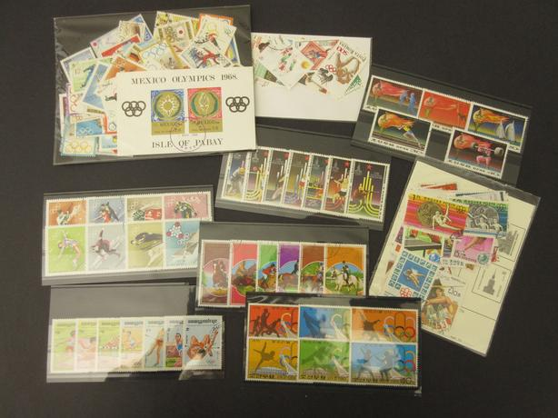 lot of stamps - subject Olympics  / Olympic Games