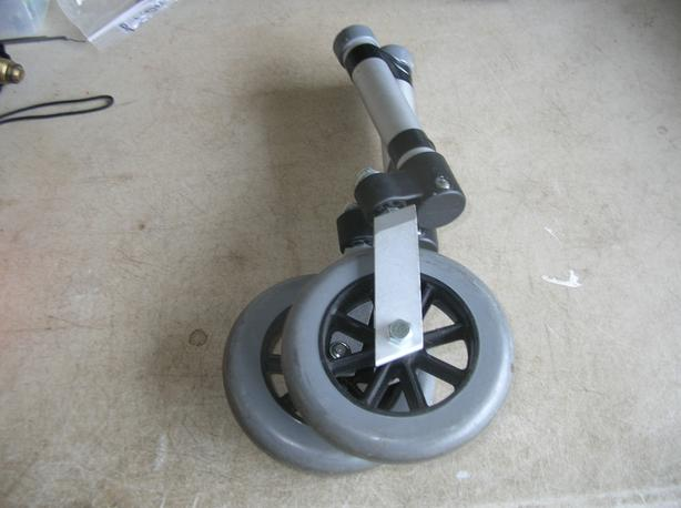 Swivel Wheels for a 2 Wheeled Walker. (276 0904)