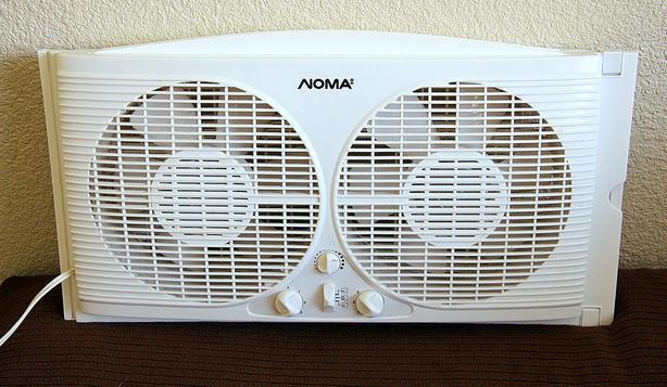 Noma Twin Window Fan