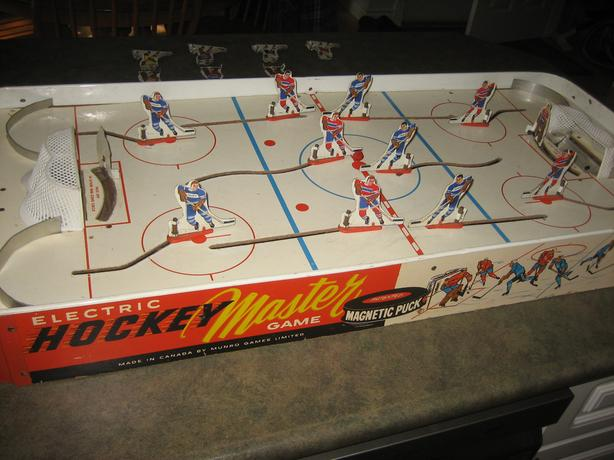 Vintage Electric Hockey Master Game