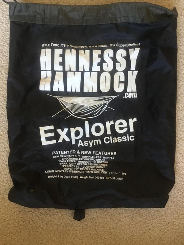 Hennessy hammock Explorer XL