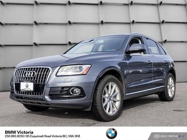 2016 Audi Q5 One Owner, Accident Free, Low Mileage