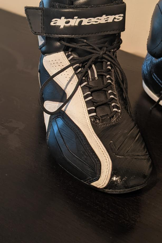Motorcycle boots 7.5 women