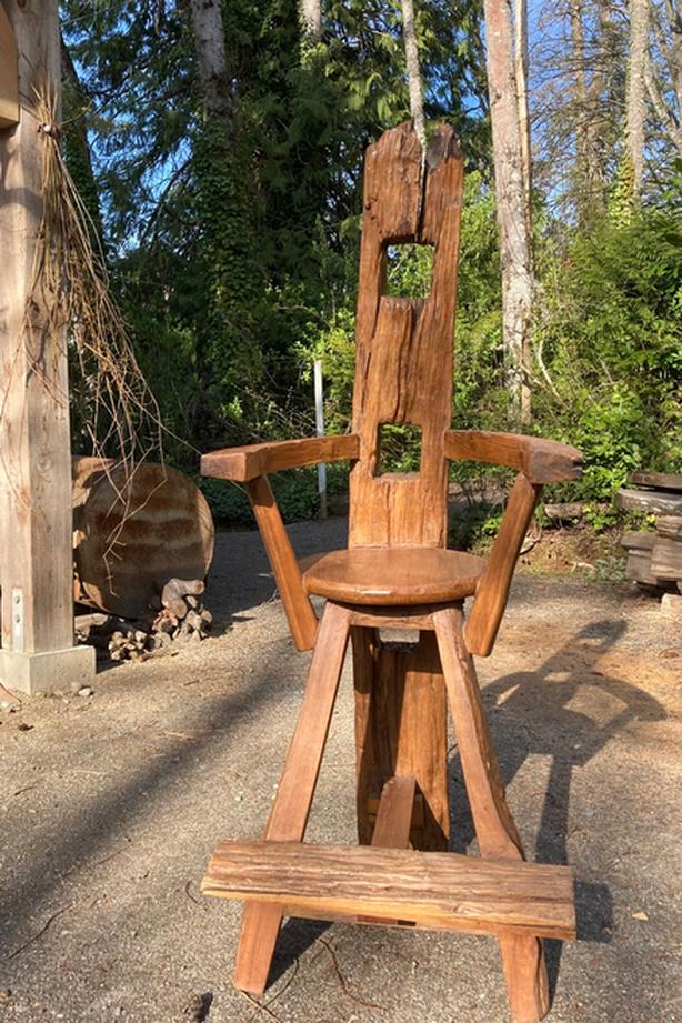 From Middle Earth... Elvish Highchair?  Wizard's Chair?