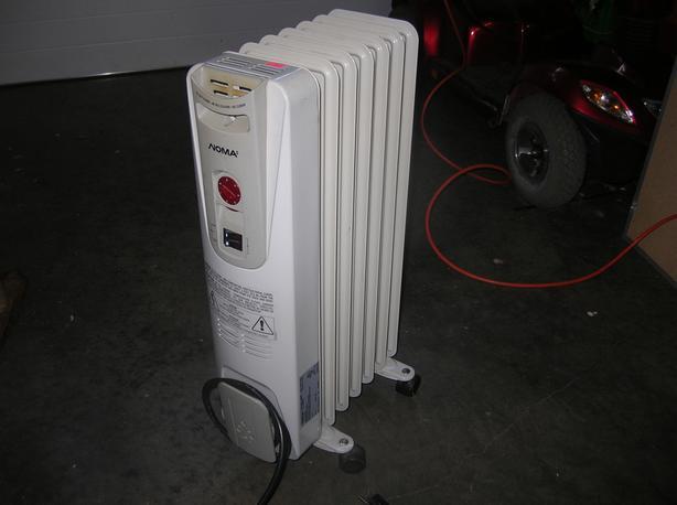 Noma Oil Filled Heater  (293 0904)