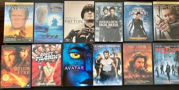 Dvds, various