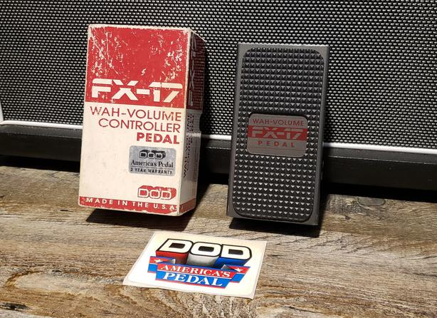 DOD FX-17 Wah/Volume, Version 1 March 1988