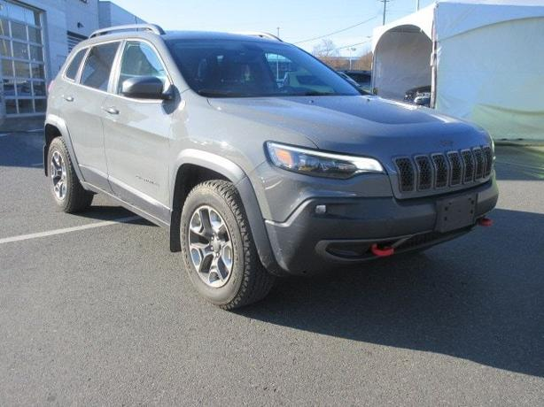 Used 2019 Jeep New Cherokee Trailhawk 4x4, One Owner, Panorama Roof SUV