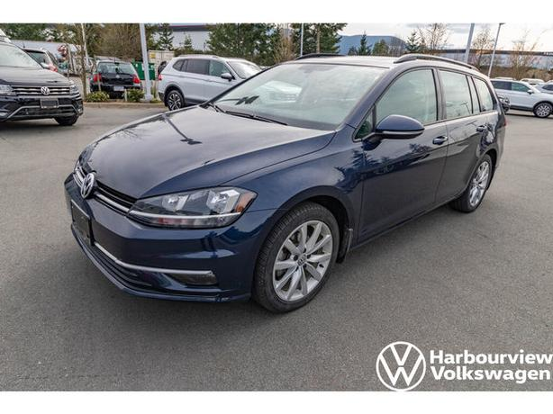 2018 Volkswagen Golf wagon Comfortline - 4MOTION AWD, LOW KM's, Pano Sunroof