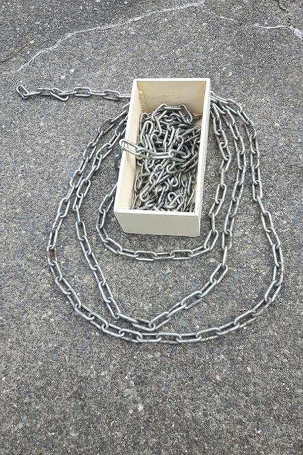 40 ft. stainless steel chain 3/8 in x 2.5 in. links