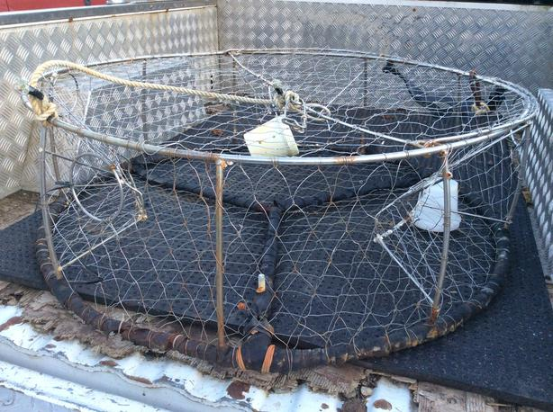 Stainless Commercial Crab Trap