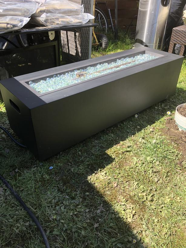 Beautiful like new propane firetable with free delivery