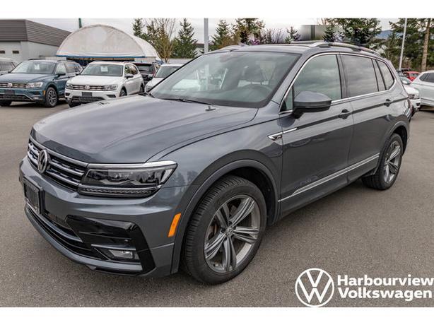 2019 Volkswagen Tiguan Highline w/R-Line & Driver's Assist Package