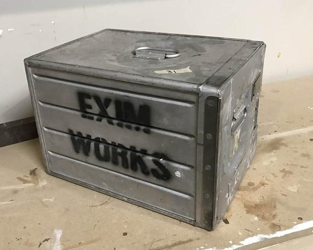 Aluminium Locker Box