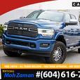2019 Ram 3500 Laramie   Mega Cab, Low KMs, Blue Streak Pearl, 4W