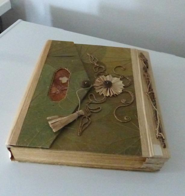 New: Hand-made plant-based art or writing journal. $35 each.