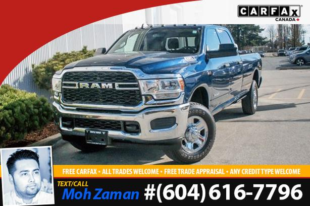 2019 Ram 3500 Tradesman | 6.4L Hemi V8, 8FT Box, Low KMs, 6-Seats