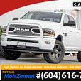 2018 Ram 3500 Laramie | No Accidents, 6.4L Hemi V8, 8FT Box, 4X4