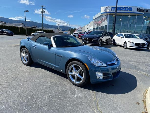 Pre-Owned 2007 Saturn SKY RWD SOFT-TOP CONVERTIBLE / LOW KILOMETRES / IMMACULATE